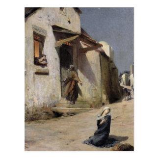 Carte Postale L'arrivée à Bethlehem, 1897