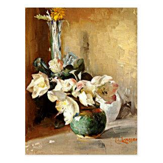 Carte Postale Larsson - Roses de Noel