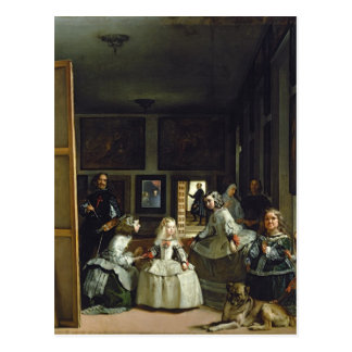 Carte Postale Las Meninas ou la famille de Philip IV, c.1656 2