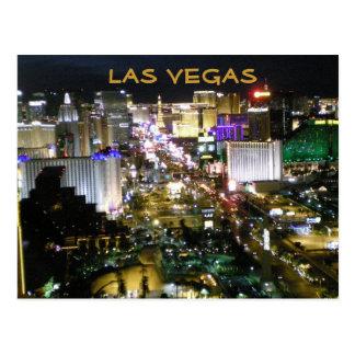 Carte Postale Las Vegas Boulevard la nuit