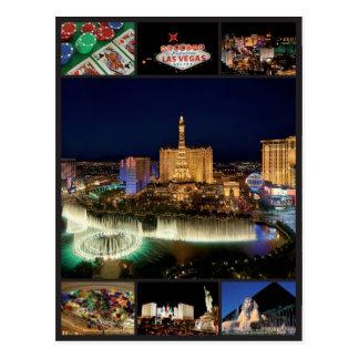 Carte Postale Las Vegas - les Etats-Unis
