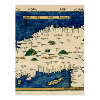 Carte Postale L'Asie 1513