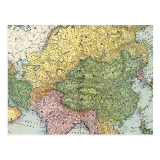 Carte Postale L'Asie 44