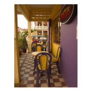 Carte Postale L'Asie, Cambodge, Siem Reap, café-restaurant