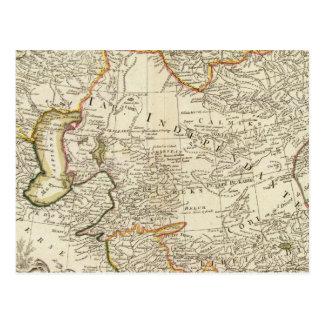 Carte Postale L'Asie centrale