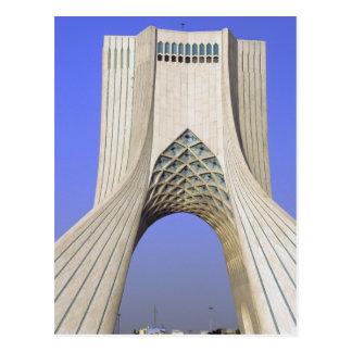 Carte Postale L'Asie, Iran, Téhéran. Monument de liberté dans