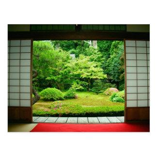 Carte Postale L'Asie, Japon, Kyoto. Jardin 2 de zen
