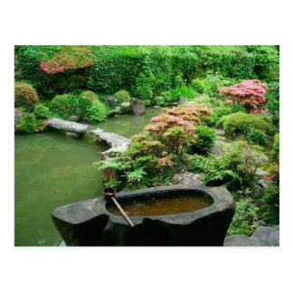 Carte Postale L'Asie, Japon, Kyoto. Jardin de zen