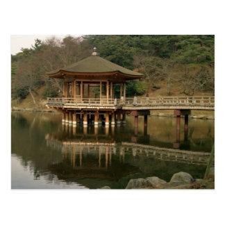 Carte Postale L'Asie, Japon, Nara, temple à Nara