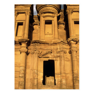 Carte Postale L'Asie, Jordanie, PETRA. EL Deir, le monastère