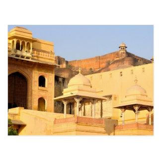 Carte Postale L'Asie, l'Inde, le Ràjasthàn, Amer ambre).