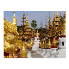 Carte Postale L'Asie, Myanmar (Birmanie), Bagan (païen). Le Shwe