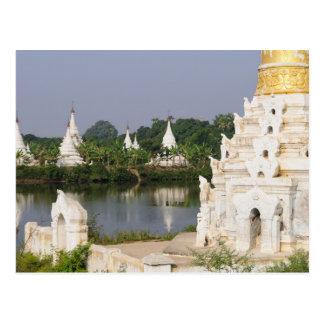 Carte Postale L'Asie, Myanmar (Birmanie), Mandalay. Un
