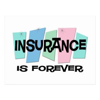 Carte Postale L'assurance est Forever