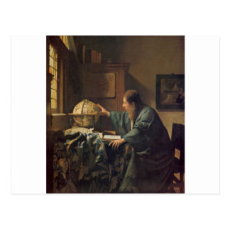 Carte Postale L'astronome par Johannes Vermeer