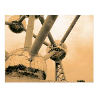 Carte Postale L'Atomium Bruxelles
