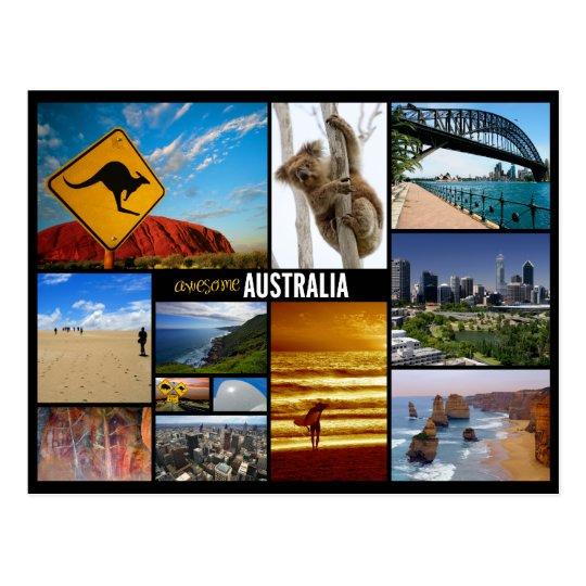 Carte Postale L Australie Zazzle Fr