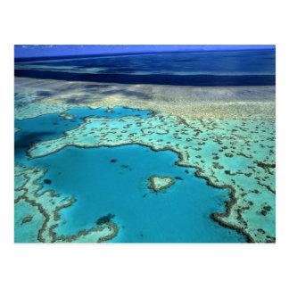 Carte Postale L'Australie - le Queensland - la Grande barrière