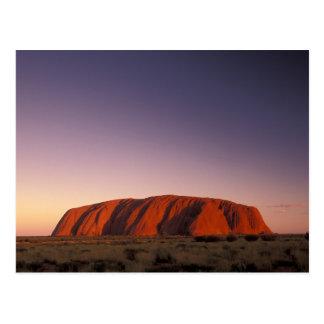 Carte Postale L'Australie, parc national d'Uluru Kata Tjuta,