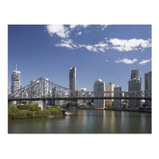 Carte Postale L'Australie, Queensland, Brisbane, pont