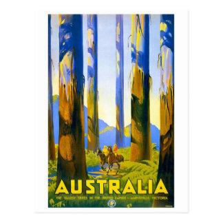 Carte Postale L'Australie - voyage vintage