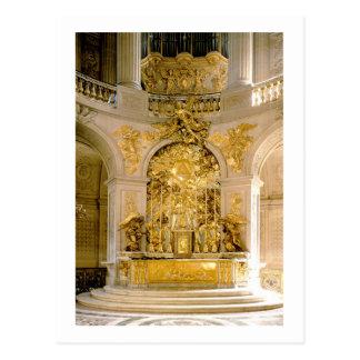 Carte Postale L'autel dans la chapelle royale (photo)