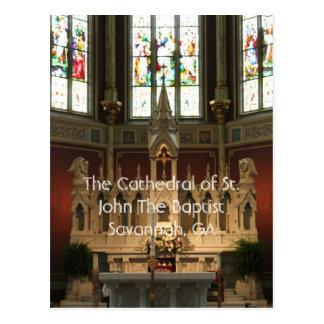 Carte Postale L'autel de la cathédrale de St John le baptiste