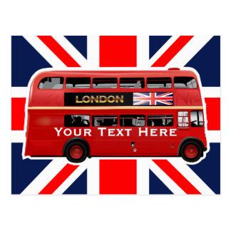 Carte Postale L'autobus de Londres