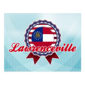 Carte Postale Lawrenceville, GA