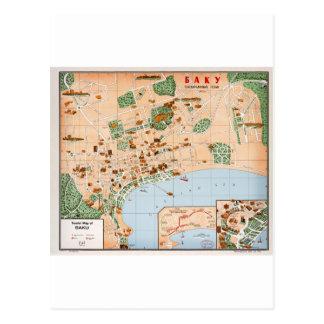 Carte Postale L'Azerbaïdjan Bakou