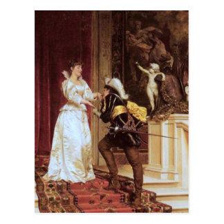 Carte Postale Le baiser du cavalier - Soulacroix
