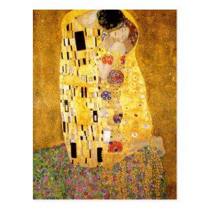 Carte Postale Le baiser Gustav Klimt
