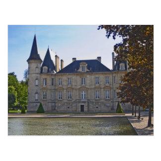 Carte Postale Le baron et l'étang de Pichon Longueville de