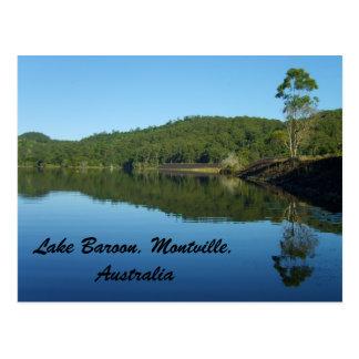 Carte Postale Le barrage sur le lac Baroon, Montville, Australie