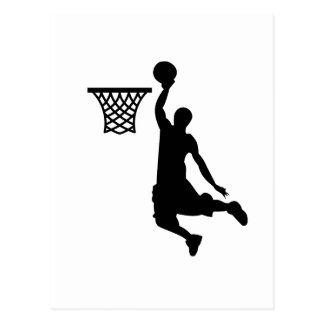 Carte Postale Le basket-ball est de grands sports