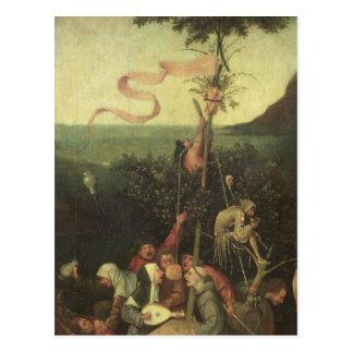 Carte Postale Le bateau des imbéciles, c.1500