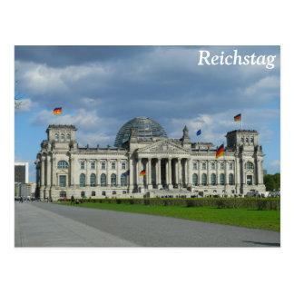 Carte Postale Le bâtiment de Reichstag, Berlin