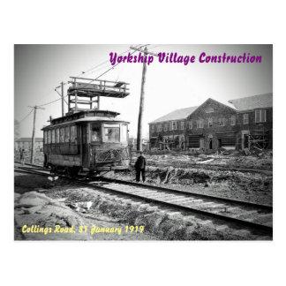 Carte Postale Le bâtiment du village de Yorkship (#1 d'une