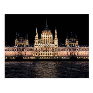 Carte Postale Le bâtiment hongrois du Parlement, Budapest
