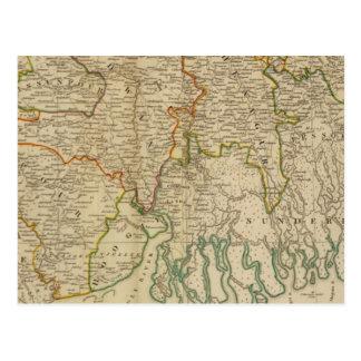 Carte Postale Le Bengale, sud de &c de Bahar
