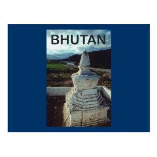 Carte Postale Le Bhutan