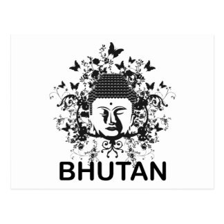 Carte Postale Le Bhutan Bouddha