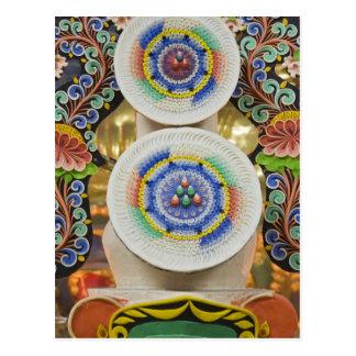 Carte Postale Le Bhutan. Les gâteaux cérémonieux faits par des