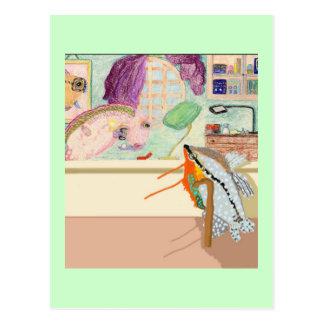 Carte Postale Le bijoutier