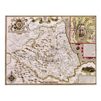Carte Postale Le Bishoprick et la ville de Durham