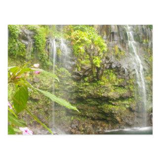 Carte Postale Le bleu met Hana en commun Maui