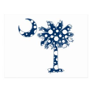 Carte Postale Le bleu pointille le Palmetto