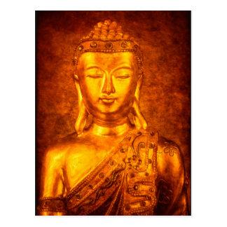 Carte Postale Le Bouddha d'or