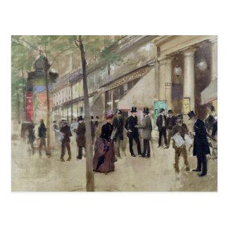 Carte Postale Le boulevard Montmartre