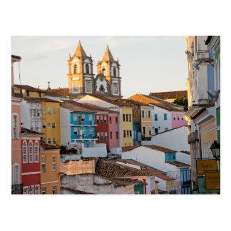 Carte Postale Le Brésil, Bahia, Salvador, la ville la plus